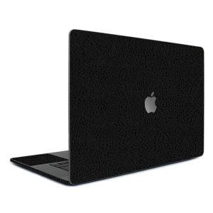 Macbook Pro 13インチ スキンシール ケース カバー フィルム 2016 Retina 対応 wraplus 選べる31色 ブラック光沢レザー|wraplus
