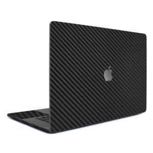Macbook Pro 15インチ スキンシール ケース カバー フィルム 2016 Retina 対応 wraplus 選べる31色 ブラックカーボン|wraplus