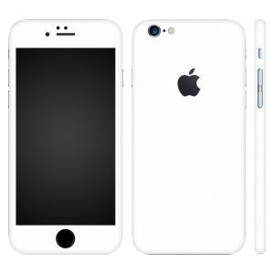 iPhone6s iPhone6 スキンシール 全面 360° カバー シール ケース wraplus 選べる31色 ホワイト 白|wraplus