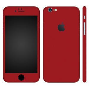 iPhone6s iPhone6 スキンシール 全面 360° カバー シール ケース wraplus 選べる31色 レッド 赤|wraplus