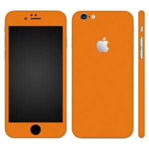 iPhone6s Plus iPhone6 Plus スキンシール 全面 360° カバー シール ケース wraplus 選べる31色 オレンジ|wraplus