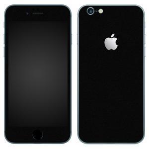iPhone6s iPhone6 スキンシール 前面 背面 シール ケース カバー wraplus 選べる31色 ブラック 黒|wraplus