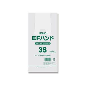 レジ袋 EFハンド3S ナチュラル 1ケース2000枚入|wrapping1