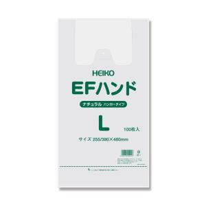 レジ袋 EFハンドL ナチュラル 1ケース1000枚入|wrapping1