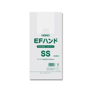 レジ袋 EFハンドSS ナチュラル 1ケース2000枚入|wrapping1