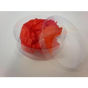 クリスタルボックス 円柱型・浅(小・78φ×高さ35ミリ)|wrapping1