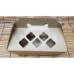 フルーツ手提げ箱 ハナチャンBOX L (グリーン) 1枚入|wrapping1
