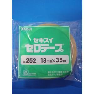 積水セロテープ18ミリ×35m巻  1巻ポリパック入り|wrapping1