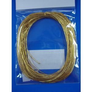 カラーゴム(1本もの)金・銀  M wrapping1