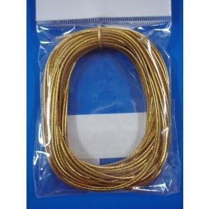 カラーゴム(1本もの)金・銀  L wrapping1