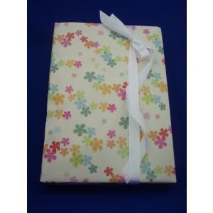 包装紙 半才コート フラワーシュガー 50枚入|wrapping1