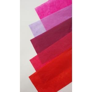 薄葉紙  赤紫系 760×500ミリ 50枚入(WAXあり・なし) wrapping1