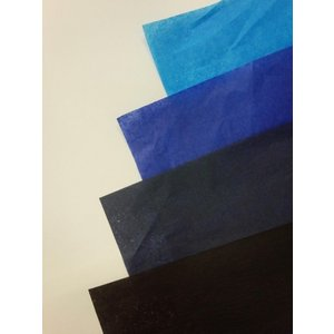 薄葉紙 青系(NON WAX) 760×500ミリ 50枚入|wrapping1