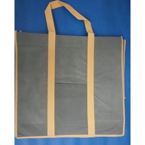 不織布バッグ・L・幅360×高395×奥280ミリ 水色|wrapping1
