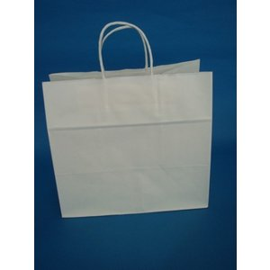 お得なまとめ買い マチ広手提げ紙袋 白無地 32-4 200枚入 前払い発送のみ|wrapping1