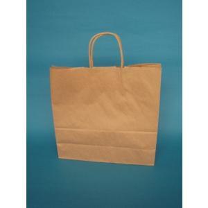お得なまとめ買い手提げ紙袋 未晒茶無地3才 300枚入|wrapping1