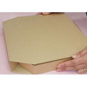 ピザ箱 33センチ ネオクラフトピザBOXL(持ち手なし) 10枚入り|wrapping1