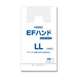 レジ袋 EFハンドLL ナチュラル 100枚入|wrapping1