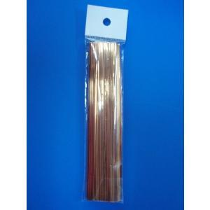 ビニタイ金 15センチ 100本入|wrapping1