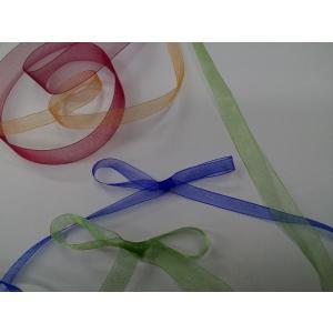 オーガンジーリボン 36ミリ幅×15M巻|wrapping1
