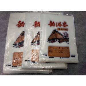 ポリ製米袋  新潟米絵コシヒカリ文字あり 10キロ用 100枚入 wrapping1