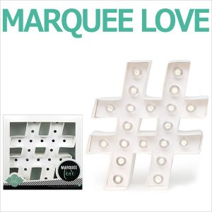 MARQUEE LOVE letters LEDイニシャルライトオブジェ マーキーライト マーキーレター MARQUEE # ハッシュタグ 312000 wrappingclub1