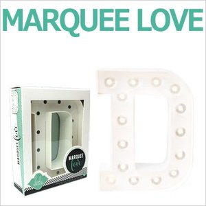 MARQUEE LOVE letters LEDイニシャルライトオブジェ マーキーライト マーキーレター 369083 MARQUEE KIT D wrappingclub1