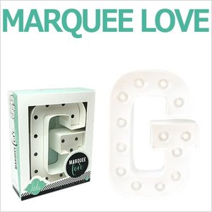 MARQUEE LOVE letters LEDイニシャルライトオブジェ マーキーライト マーキーレター 369086 MARQUEE KIT G wrappingclub1