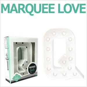 MARQUEE LOVE letters LEDイニシャルライトオブジェ マーキーライト マーキーレター 369096 MARQUEE KIT Q wrappingclub1