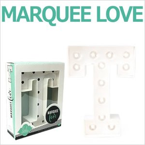 MARQUEE LOVE letters LEDイニシャルライトオブジェ マーキーライト マーキーレター 369099 MARQUEE KIT T wrappingclub1