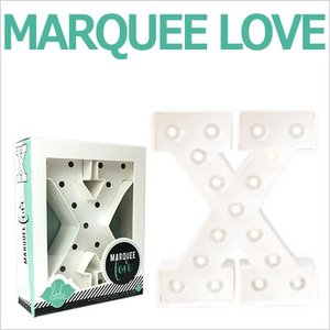 MARQUEE LOVE letters LEDイニシャルライトオブジェ マーキーライト マーキーレター 369103 MARQUEE KIT X wrappingclub1