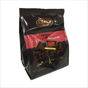 期間限定輸入お菓子 チョコレート 個包装 セモア 72%ダー...