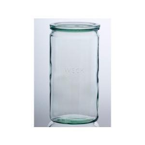 WECK ウェック WECKキャニスター ガラス瓶 ストレート 容量1550ml 85628 Straight 1550|wrappingclub1
