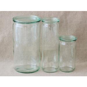 WECK ウェック WECKキャニスター ガラス瓶 ストレート 容量1550ml 85628 Straight 1550|wrappingclub1|03