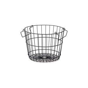 キッチン、ランドリー、リビングで! スタッキング可能で使いやすいバスケットです。  ●サイズ:W28...