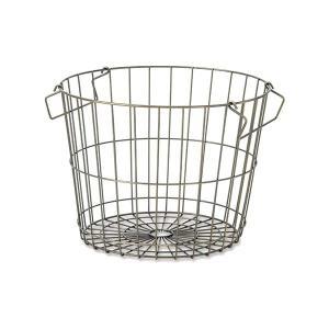 キッチン、ランドリー、リビングで! スタッキング可能で使いやすいバスケットです。  ●サイズ:W37...