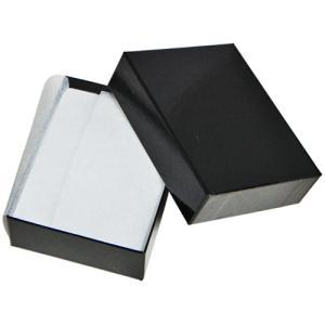 ジュエリーケース アクセサリーケース  B88 紙製  黒 ...