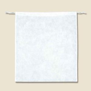 不織布バッグ シモジマ Fバッグ 薄口白 K53...の商品画像