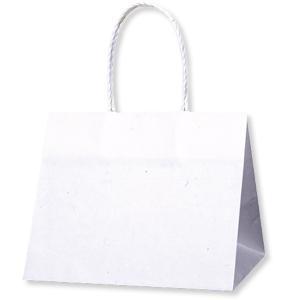 紙袋 手提げ袋 Pスムースバッグ 25-19 白...の商品画像