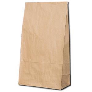 紙袋 シモジマ 角底袋 クラフト袋 未晒無地 L...の商品画像