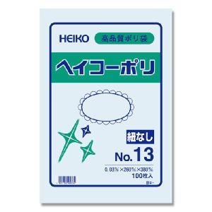 透明ポリ袋 ヘイコーポリ No13(厚0.03m...の商品画像