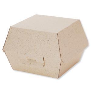 エコ素材でできたトレイ! ハンバーガーやパンにおすすめ♪ 「エコパームボックス」は環境配慮型のフード...