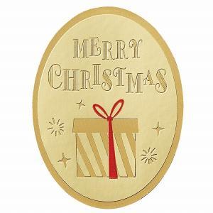 クリスマス ラッピング ギフトシール HEIKO シモジマ Xmasシール ウィッシュ 24枚入|シモジマラッピング倶楽部
