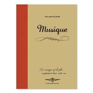音楽の教科書のようなノートブックです!  五線譜、クラフト2mm方眼、ミシン目付き無地の3種類が一冊...
