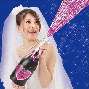 カネコ 大型クラッカー ピンクスパークリングシャワー 弾2発付き  日本製  クリスマス パーティー 結婚式 お祝い