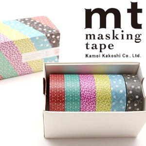 マスキングテープ  mt カモ井加工紙 和文 WAMON 和文・四 15mm×10m MT06P00...