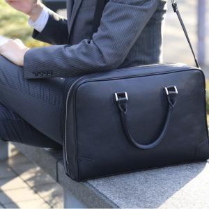 ビジネスバッグ メンズ 2way 革 軽量 大容量 バッグ メンズ 2way レザー ビジネス メンズ バッグ 本革 ブランド anday 銀面|wraps|11