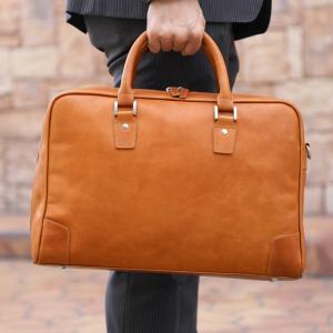 ビジネスバッグ メンズ 2way 革 軽量 大容量 バッグ メンズ 2way レザー ビジネス メンズ バッグ 本革 ブランド anday 銀面|wraps|12