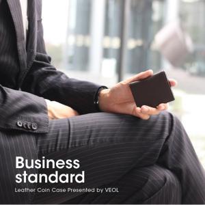 財布 メンズ 折り財布 サイフ さいふ 小銭入れ メンズ コインケース 見やすい 立体 男性 本革 本皮 牛革 レザー 男性 プレゼント ギフト ビジネス VEOL|wraps