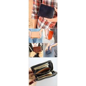 財布 メンズ 小さい 財布 レディース 小さめ ミニ財布 レディース コンパクト 財布 メンズ ミニマリスト レザージー 女性 ギフト プレゼント 二つ折り財布 本革|wraps|02
